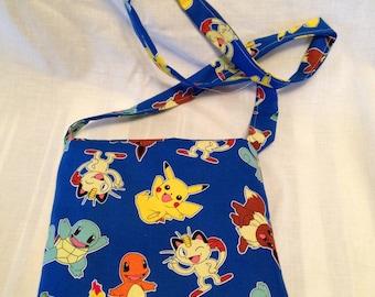 Blue Nintendo Pokeman kindle/tablet bag