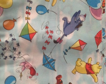 Winnie the pooh cotton fabric 44/45 wide 1 yard long
