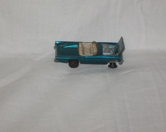 vintage 1969 mattel hot wheels 57 bird green