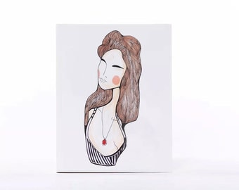 POCKET size notebook. ''Nina''
