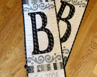 Customized Initial Wall Hanging
