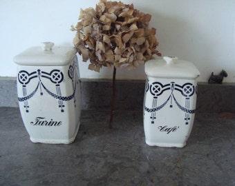 Vtg storage jars from France - Sale price