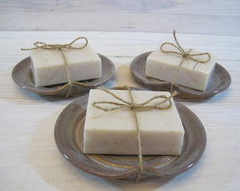 Ceramic Soap Dish, Handmade Soap Dish (soap included), perfect for Valentines Day