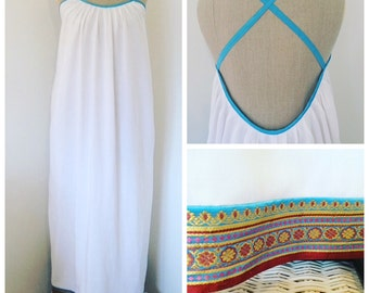 White Maxi Dress: Boho Chic
