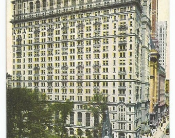 Trinity Building and Broadway, New York Divided Back Old Postcard (Unposted)