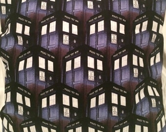 Dr. Who Pillow Cover