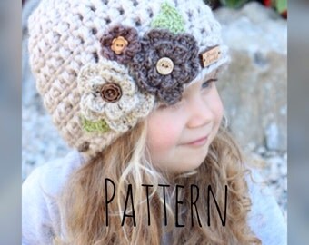 childrens crochet pattern,crochet pattern for children,crochet hat pattern