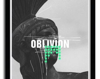 Affiche Oblivion par Frank Moth