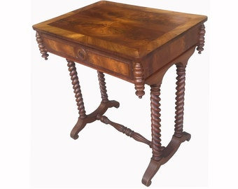 19th-c Side Table; FREE SHIPPING anywhere in the Continental U.S.