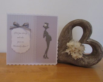 Large Handmade Maternity Leave Card in Presentation Box
