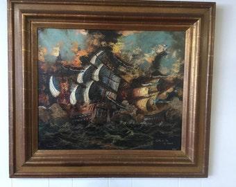 Battle at Sea by Vasselli
