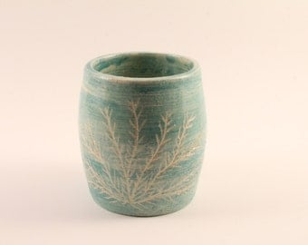 Blue Coral Cup