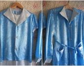1930s silk pyjamas & robe, oriental silk dressing gown and pjs