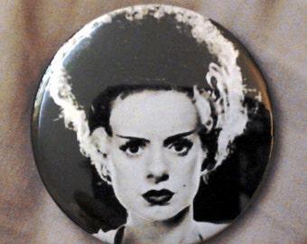 Bride of Frankenstein hand bag mirror 58mm