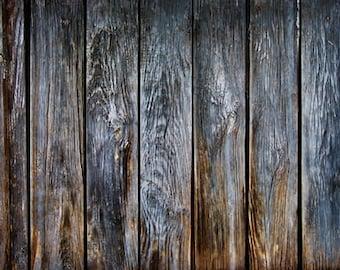 Old Dark Black Wood Photography Backdrop, vintage shabby wooden Floordrops, Food product photo shoot backdrop D7571