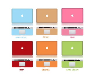 "Macbook Front & Wrist Sticker Vinyl Decal Cover For Macbook Pro 13"" Comes with free keyboard cover and gift"