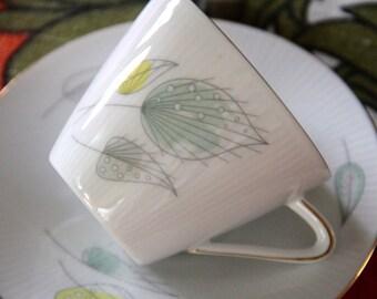 "Vintage Seltmann Weiden Bavaria Porcelain TRIO  ""Monika"""