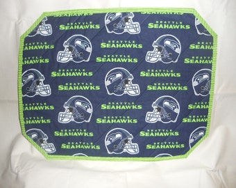 Seattle Seahawks Print Placemats Set of 2 or 4