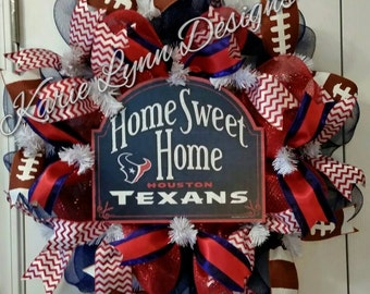 Houston Texans Deluxe Wreath