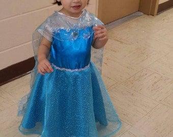 Elsa Costume for Little Girls All Sizes