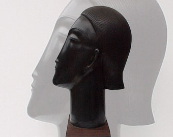 The Poetess Scuplture by Anton Smit ~ Fabulous Modern black woman head sculpture