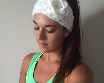 Hayes Headband • Crochet Ear Warmer Headband