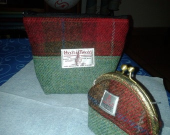 harris tweed set