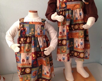 Thanksgiving themed dress