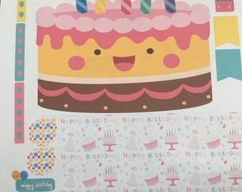 Birthday Supplemental Scene Sheet