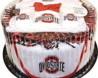 Ohio State Newborn Baby Clothing Gift Set