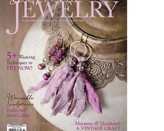 SALE~As seen on the cover of Belle Armoire magazine,Sari silk tassel earrings,pale orchid,fair trade sari silk,recycled, bohemian chic,indie
