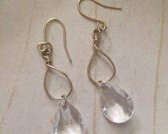 Dangle Crystal Earrings