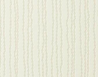 Luxury Bead Striped Off WhiteWallpaper R1769