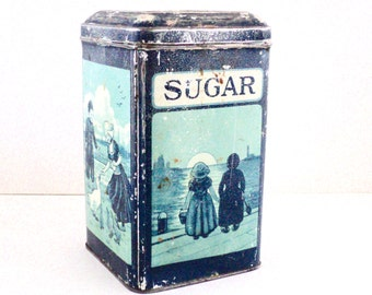 1920's Iten's Sugar Cannister