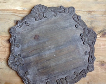Tray/placemat/table runner in inlaid wood