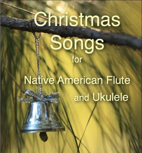 items similar to christmas songs ukulele native american style flute on etsy. Black Bedroom Furniture Sets. Home Design Ideas
