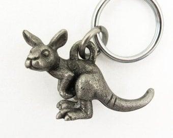 Kangaroo Keychain, Baby Kangaroo Keychain, Joey