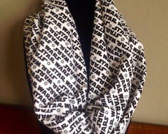 Star Wars infinity scarf, Star Wars scarf, stsr wars scarves,