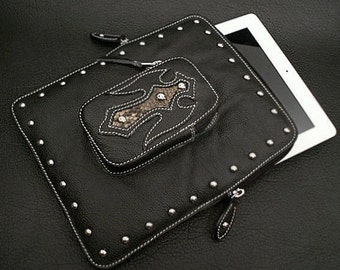 Leather  iPad Case / K25A04