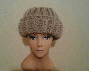Chunky winter hat