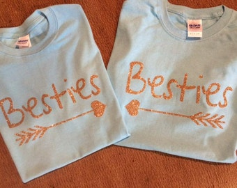 Besties Set of Two Shirts