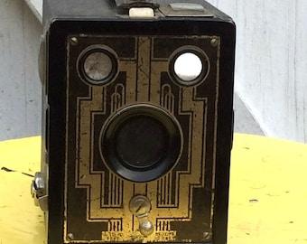 Vintage Antique Estate Art Deco Kodak Brownie Six 20 Box Camera