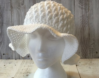 Crochet sun hat, crochet beach hat, women's beach hat, women's crochet beach hat, cotton hat, cotton summer beach hat, cotton summer hat