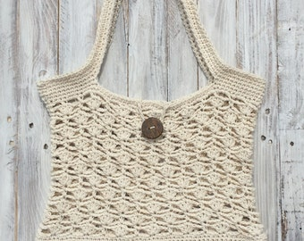 Crochet beach bag, crochet beach purse, crochet beach tote, crochet purse, crochet tote, summer crochet bag, summer bag, summer beach bag