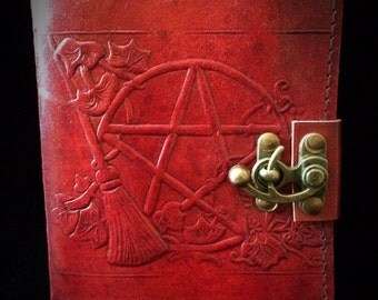 Pentacle and broom journal /book of shadows