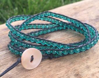 Emerelad Wrap bracelet