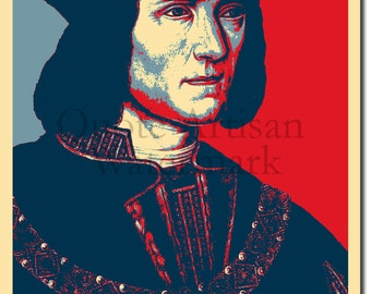 Richard III Original Art Print - Photo Poster Gift