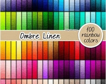 SALE 100 ombre linen digital paper ombre fabric digital paper textured digital paper neutral linen pattern 12x12 pastel neutral bright dark