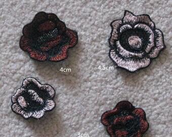 Wholesale lot  60pcs  embroidered   lace  patch  applique diy sewing