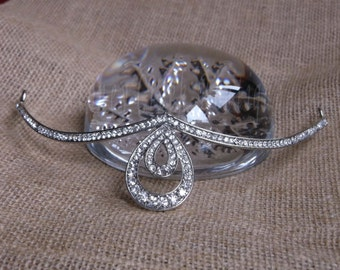 Bridal Tiara, Crystal Wedding Tiara, Rhinestone Tiara, Wedding Tiara, For Bride, Bridesmaid, Prom